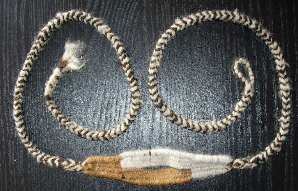 A South American sling made of alpaca hair