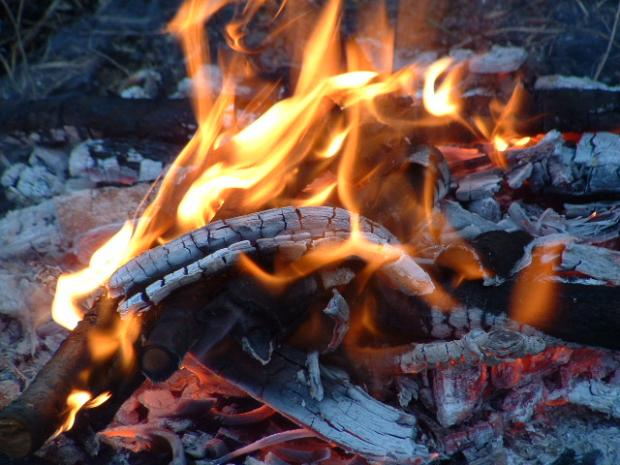 Burning the right wood in your campfire it makes all