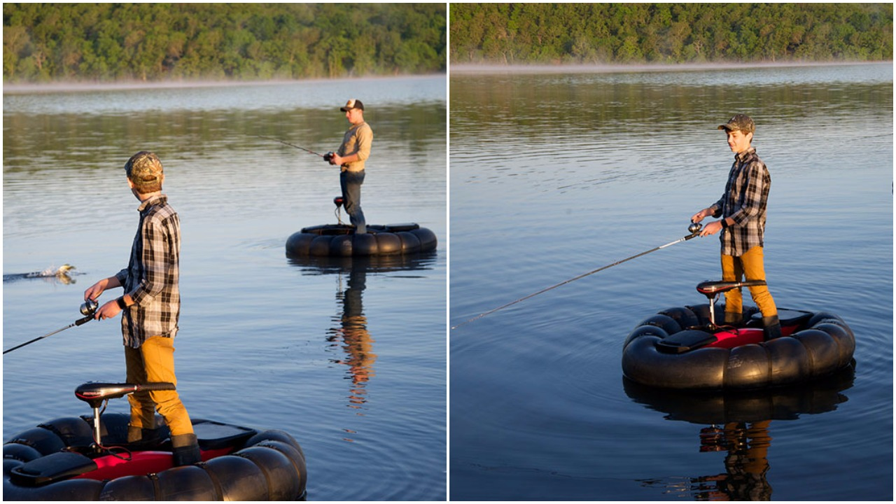 Goboat is the most compact portable fishing boat on the for Portable fishing boat
