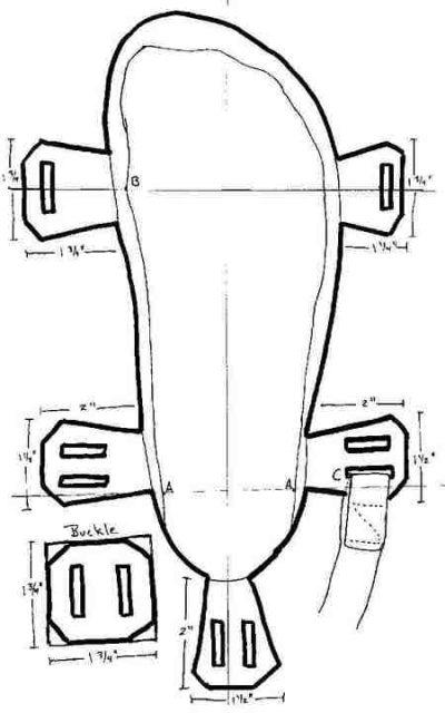 Как сделать из бумаги сандали