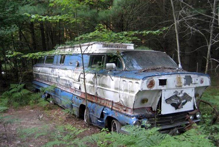 The Homemade Motorhome Made From Two 1962 Buick Station