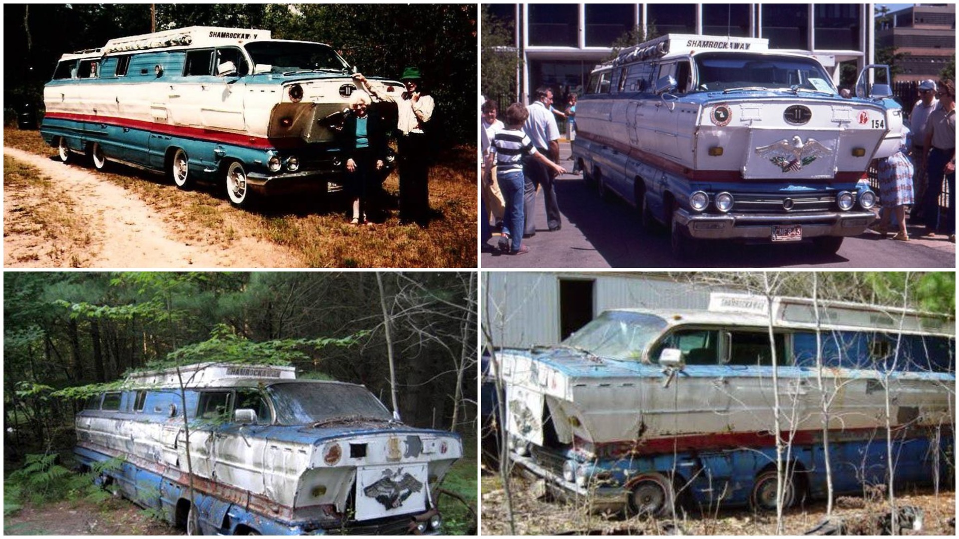 1962 Buick station wagons