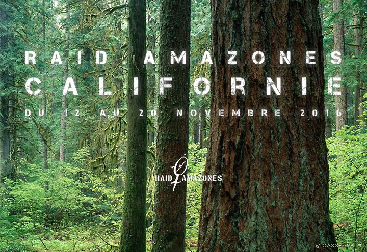Après le Raid Amazones en Californie... vous irez où ? Sequoia !