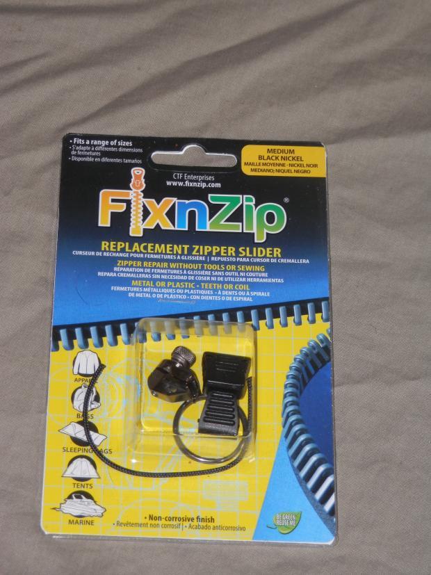 FixnZipReplacement Zipper Slider u2013 Review & FixnZip:Replacement Zipper Slider - Review - Outdoor Revival