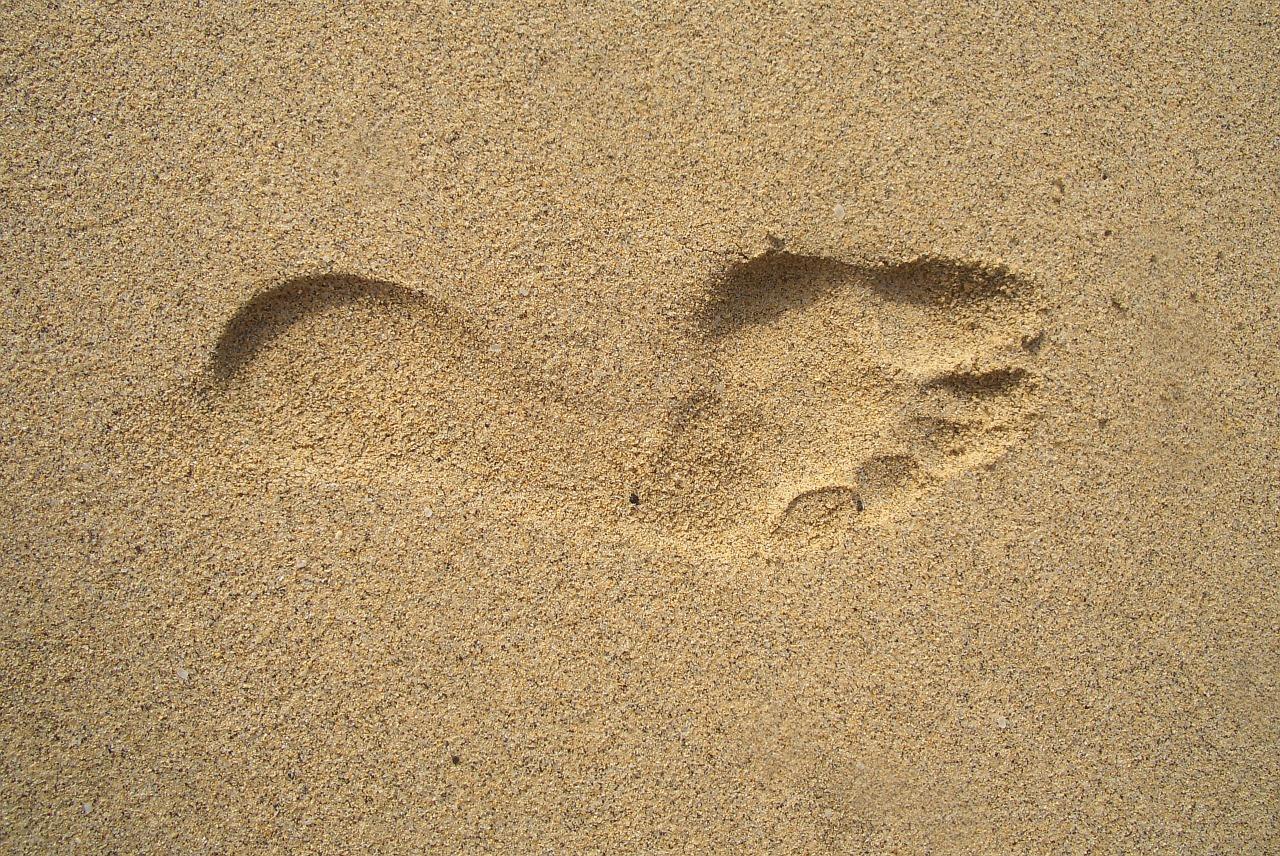 footprint-1345564_1280