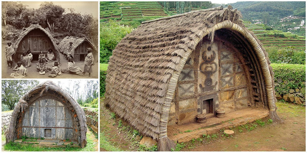 Toda Huts The Original Homes Of The Toda People An