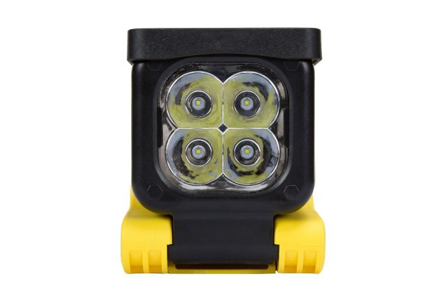 12 Watt Rechargeable LED Lantern with Magnetic BaseRechargeable LED Area Light that produces 1,050 lumens of light