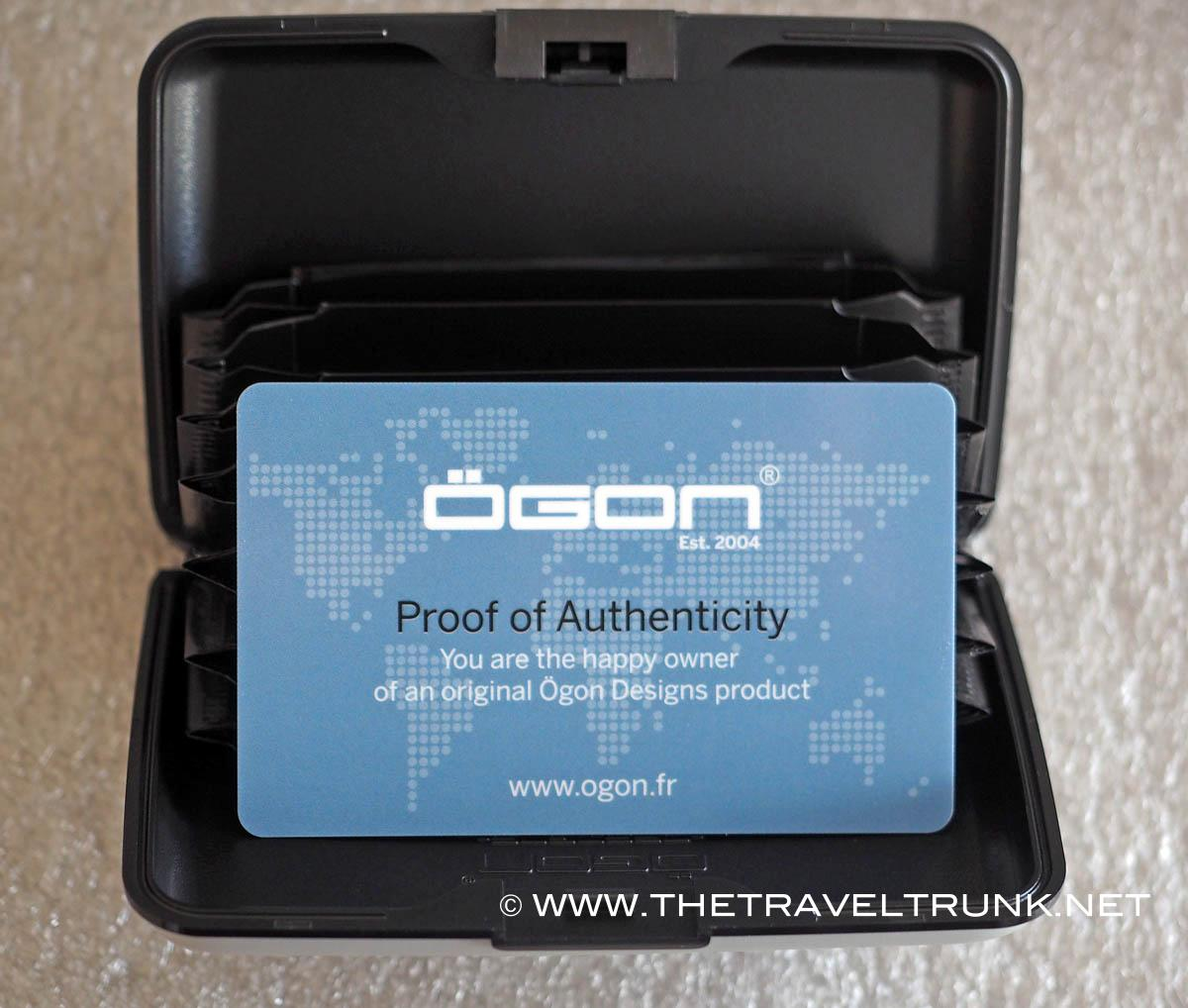 The Ögon wallet may help you keep in credit while on the move.