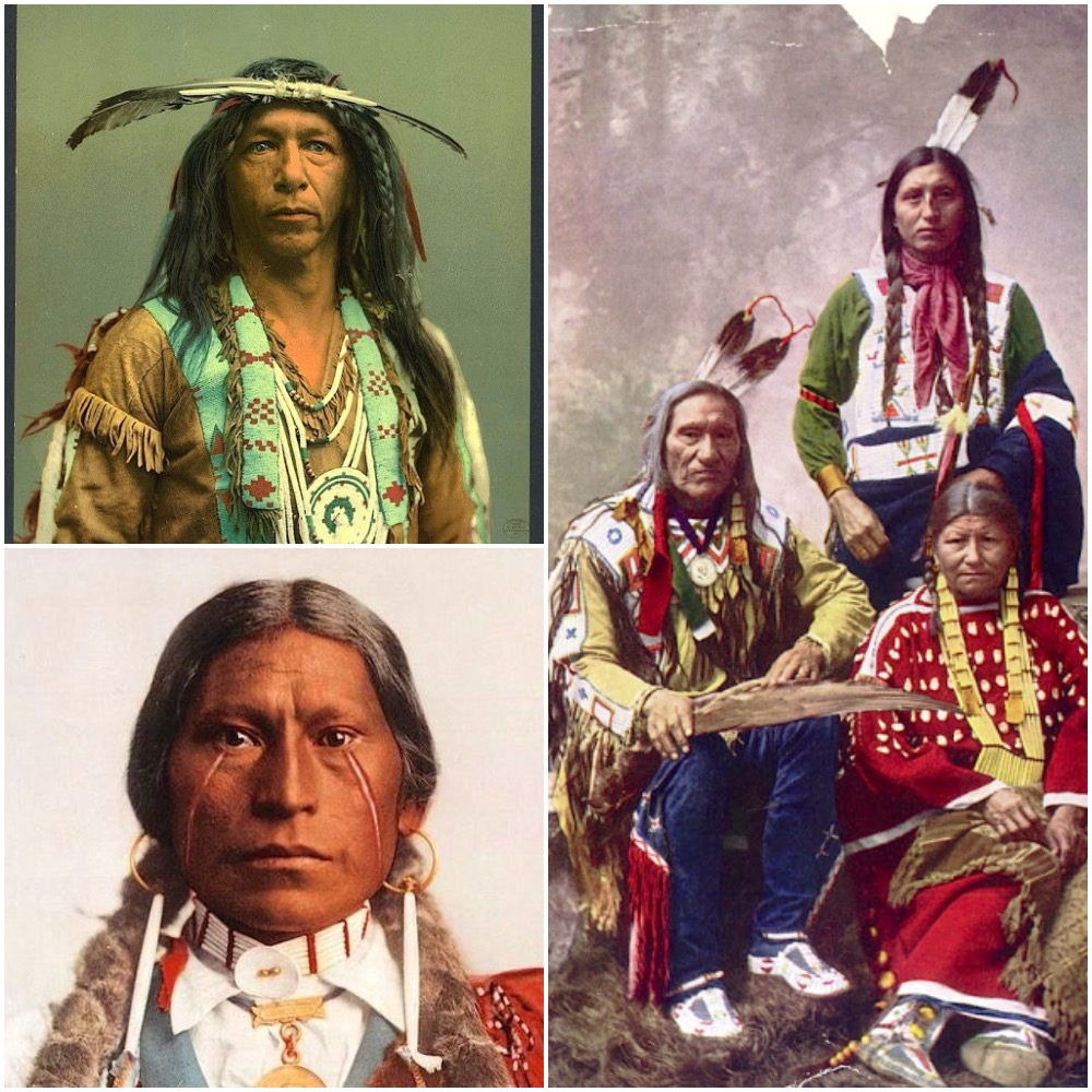 Native American Healing Herbs Plants: 20 Beautiful Colorized Photos Of Native Americans In The