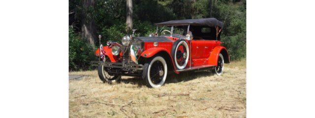 """The ex-Maharaja of Kotah """"Tiger Car"""",1925 Rolls-Royce New Phantom Torpedo Sports Tourer Chassis no. 23 RC Engine no. CT 15. Source: Bonhams"""