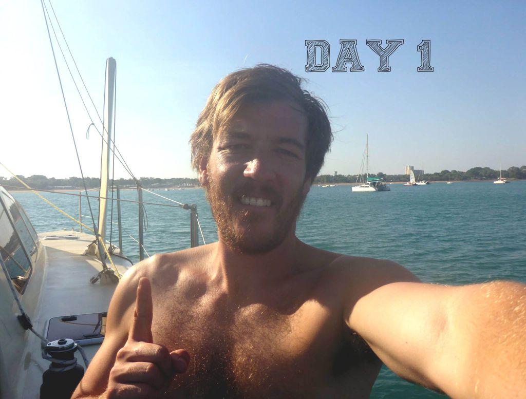 Leaving Australia by boat (Picture: Deadline News)