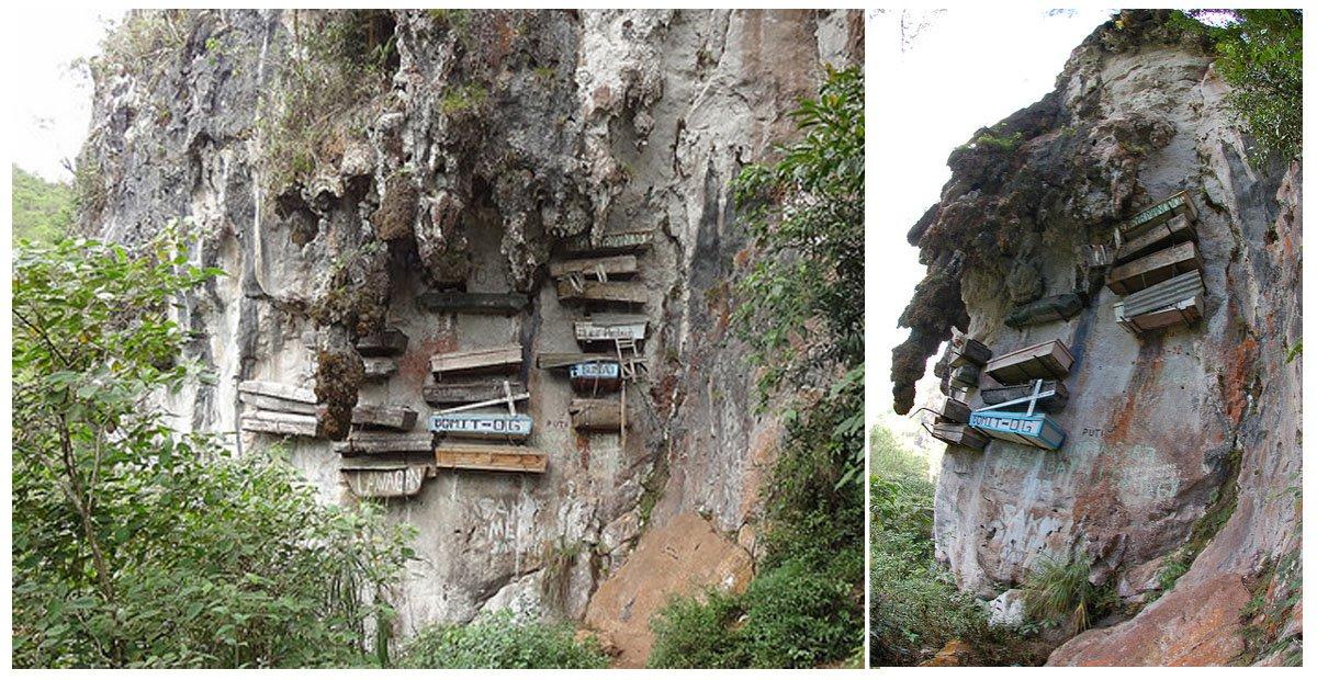 The Hanging Coffins Of Sagada A Unique Burial Ritual In