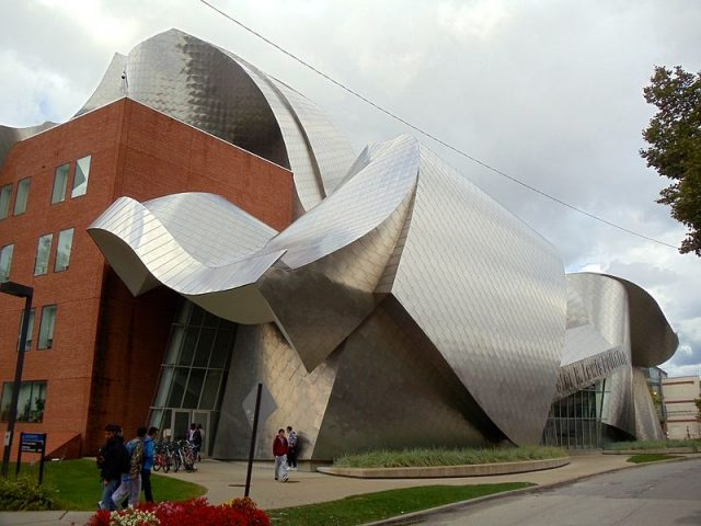 Frank Gehry S Buildings Around The World A Journey