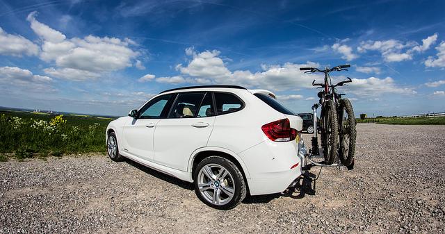 BMW X1 Bike Rack Ridgeway-4. Author: lozwilkes - CC BY-NC-ND 2.0
