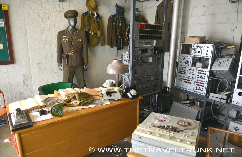 The former KGB listening and monitoring room Hotel Viru.
