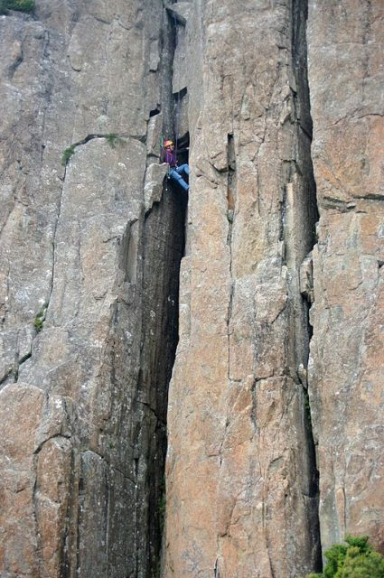 Mendelt Tillema returns to the Organ Pipes Mt Wellington – Author: Stefan Karpiniec – CC BY 2.0
