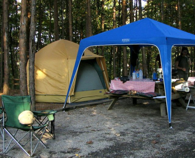 Cabin Style Tent. Photo Credit