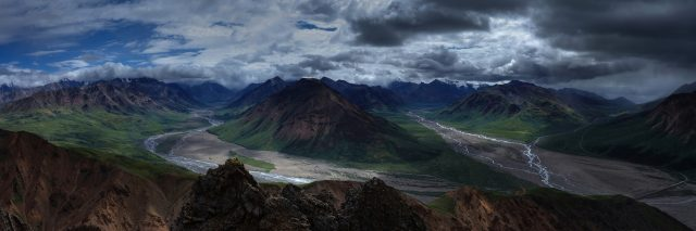The beautiful landscapes of Alaska