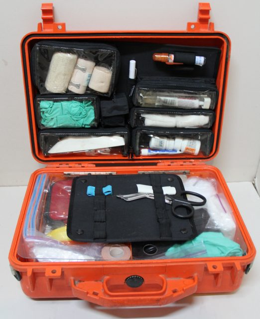 Creating a first aid kit that is specific to your adventure is important to keep you safe