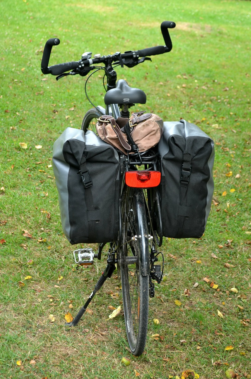 Specialist kit like this is unnecessary for a new cycle tourer