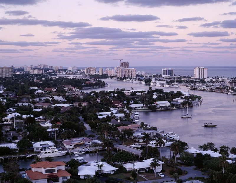 View of Fort Lauderdale, Florida