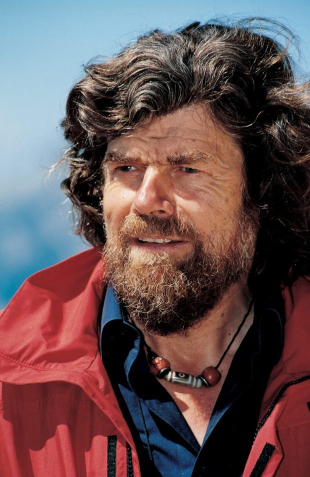 Reinhold Messner in June 2002 – Author: GianAngelo Pistoia – CC BY 3.0