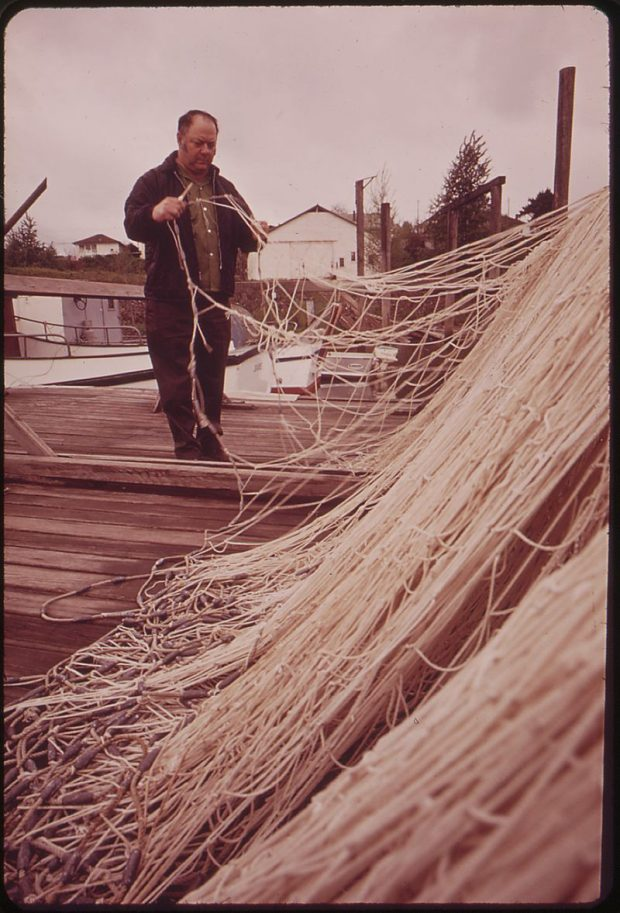 Gill net Photo Credit