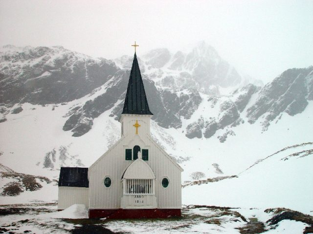 The church at Grytviken