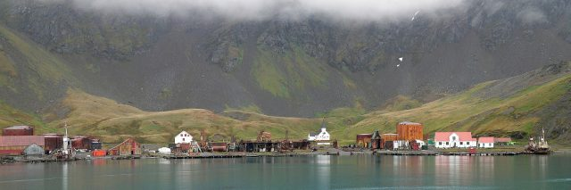 A panorama of Grytviken. Photo credit