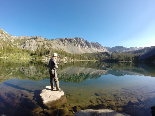 Spending a summer in mammoth lakes california outdoor for Lake arrowhead fishing