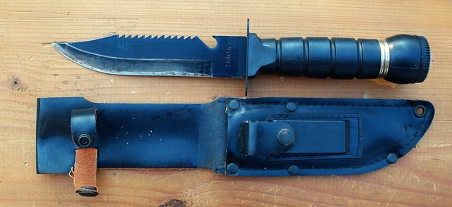 blades in the bush combat knife
