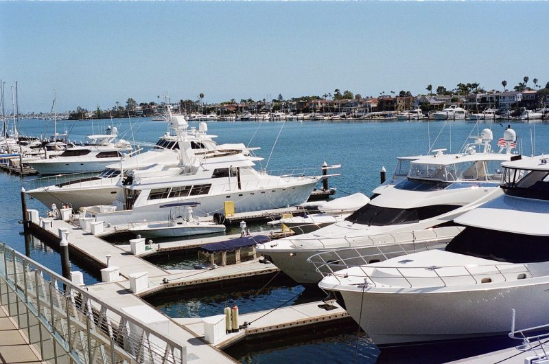 Docks on the Newport Harbor