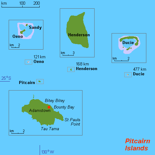 Pitcairn Islands One Of The Hardest Place To Get On Earth - Pitcairn island one beautiful places earth