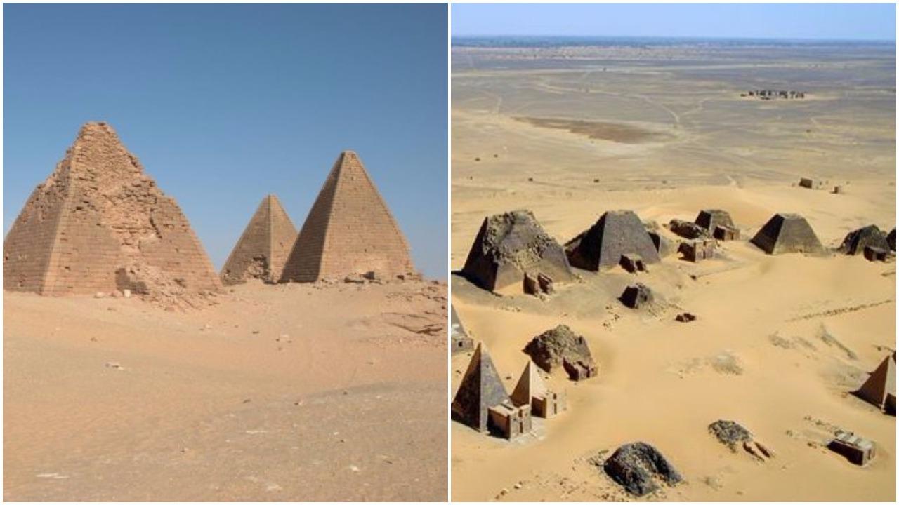 Sudan - pyramids