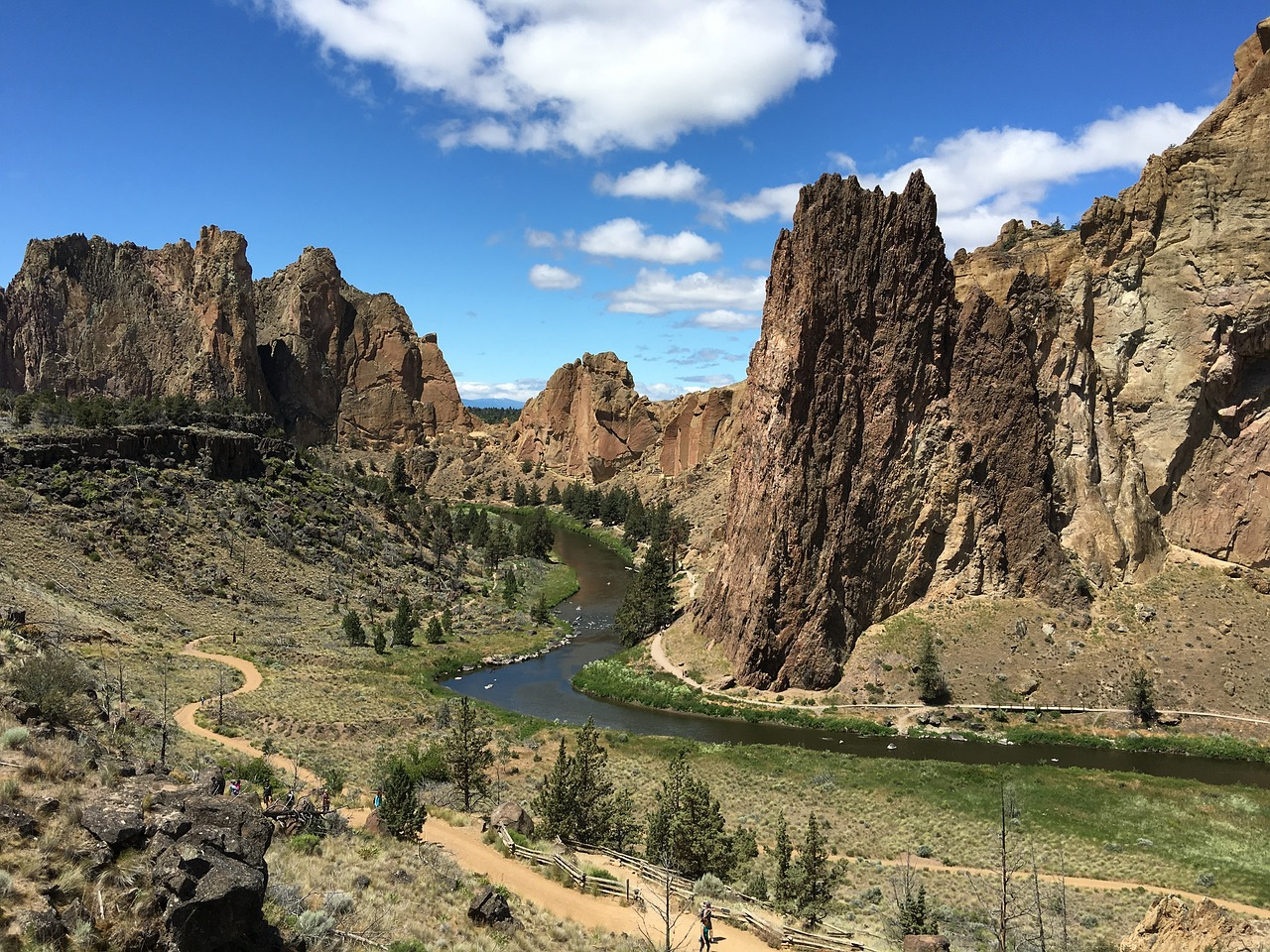 Underground Parking Visitors Guide To Smith Rock State Park Oregon Outdoor