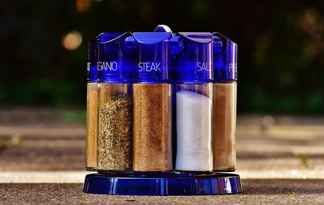camp cooking kit salt seasoning