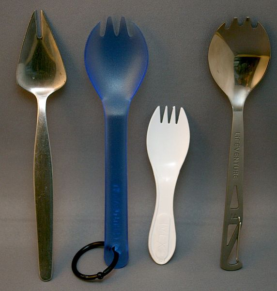 camp cooking kit spork