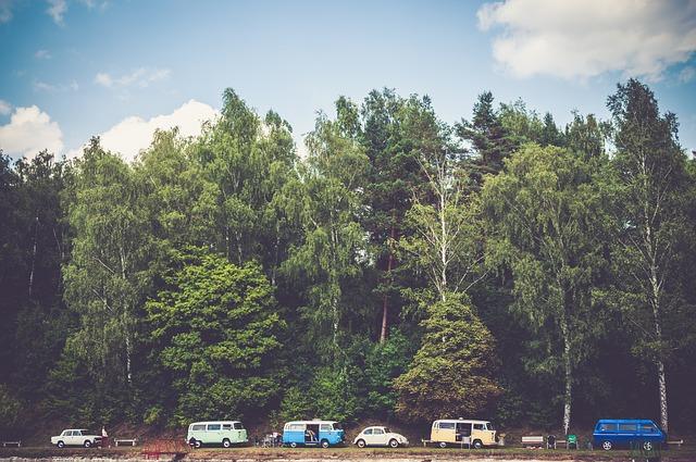 car vanlife camping