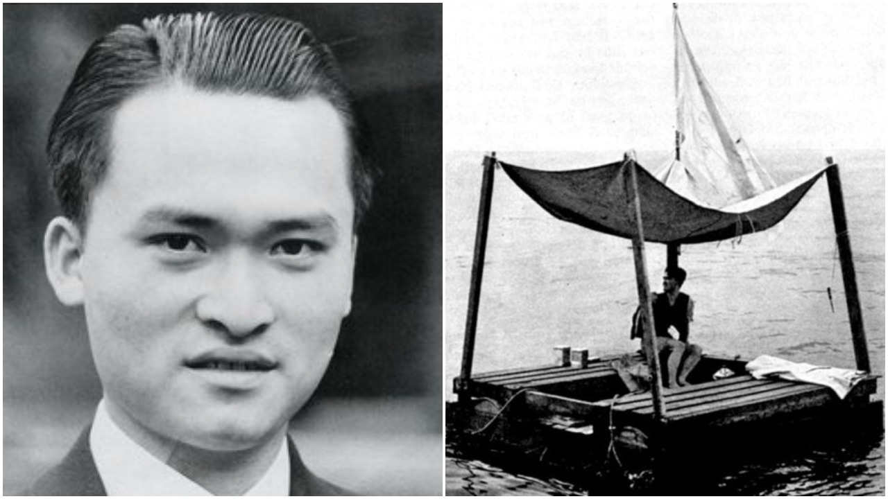 Poon Lim survived for 133 days adrift on the sea
