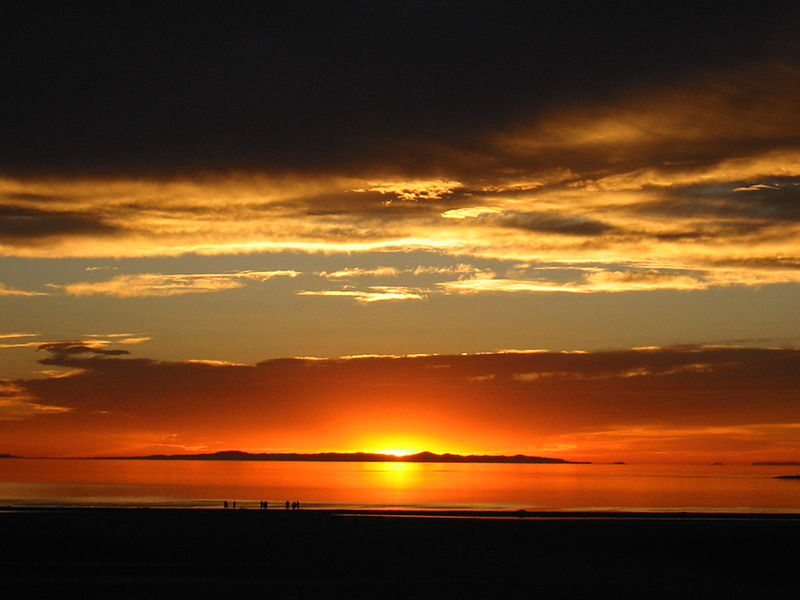Antelope Island Sunset Photo Credit