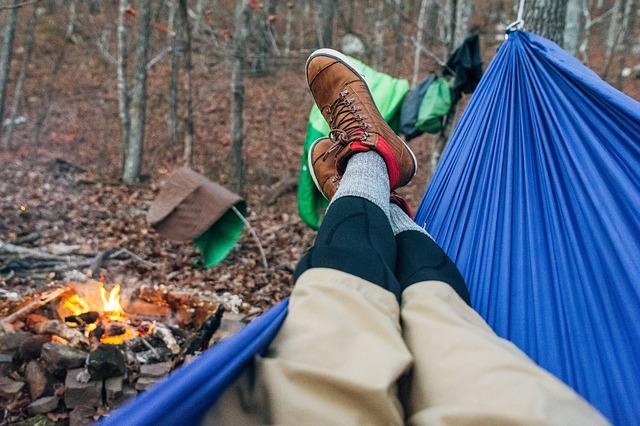Hammock camping, bliss...
