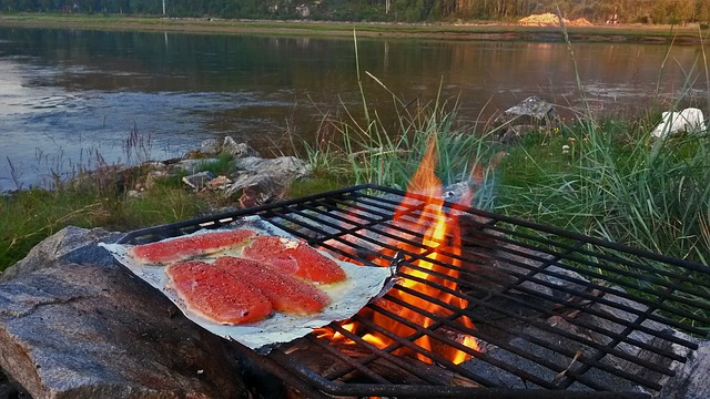 Open fire cooking - Yummy