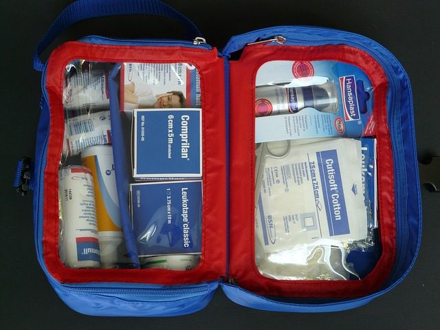 A good first aid kit is a must
