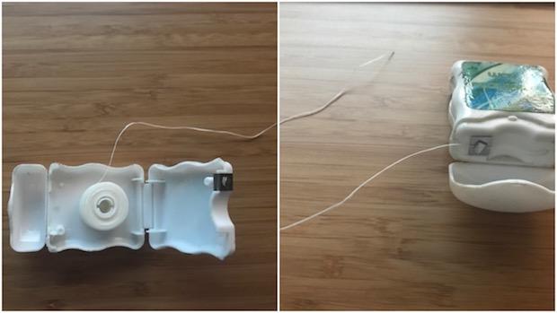 Dental floss has many uses