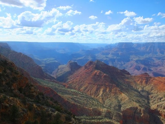 The Majestic Grand Canyon vista