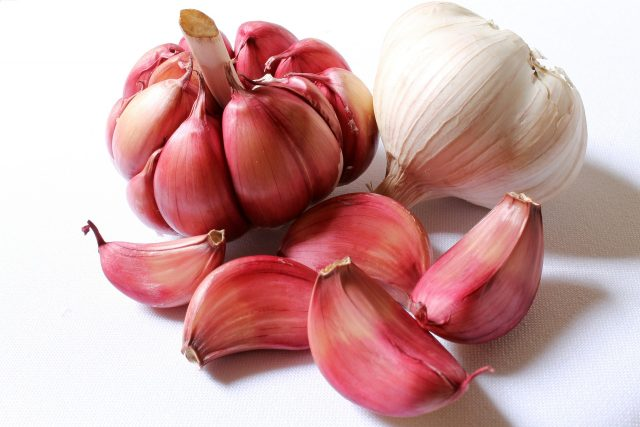 Garlic is cheap and easy to keep unrefrigerated.