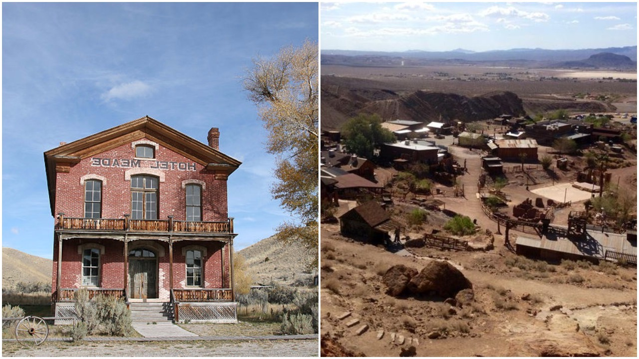 Spend the night in a ghost town