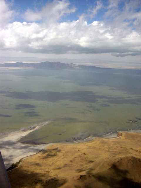 The Great Salt Lake Photo Credit