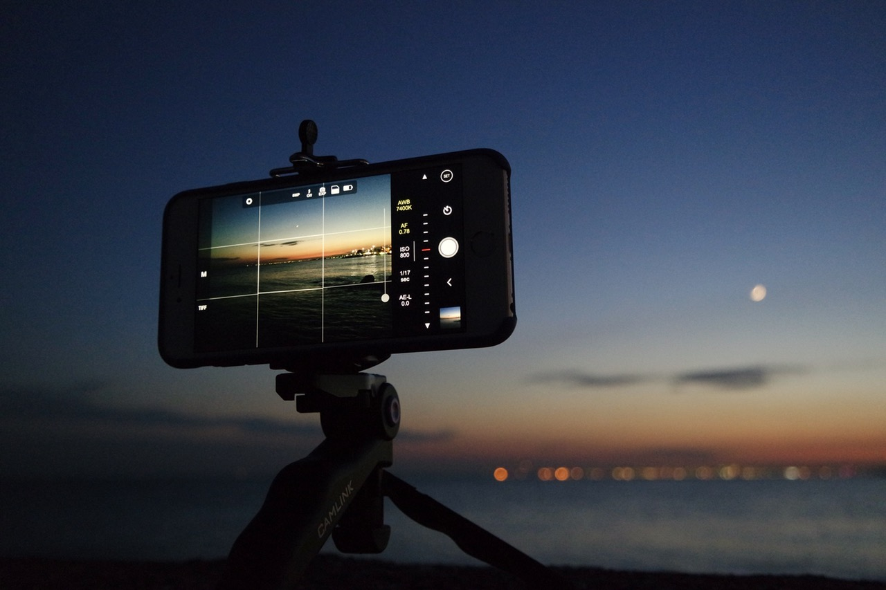 Smartphone photography and Apps