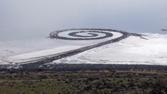 Spiral Jetty Photo Credit
